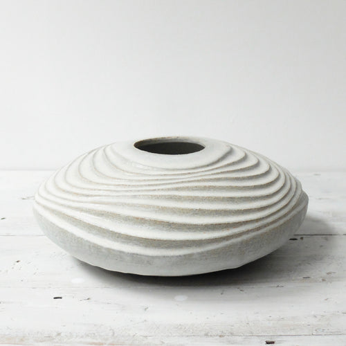 Michèle Bianco Ripple Effect Horizontal Carved Disc 5
