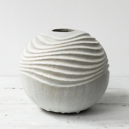 Michèle Bianco Ripple Effect Spherical Carved Disc 6