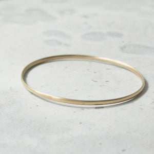 Kerry Seaton Fine 9ct Yellow Gold Bangle