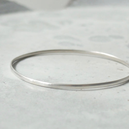 Kerry Seaton Fine Silver Bangle