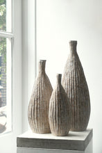 Malcolm Martin and Gaynor Dowling Ribbed Flask III