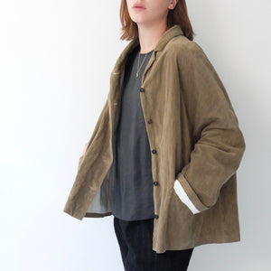 (AW20)  A.B Apuntob Baby Cord Jacket in Desert