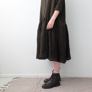 A.B Apuntob Wool Dress Green