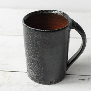 Jack Doherty Soda Fired Stoneware Tall Mug (LIGHT INTERIOR)