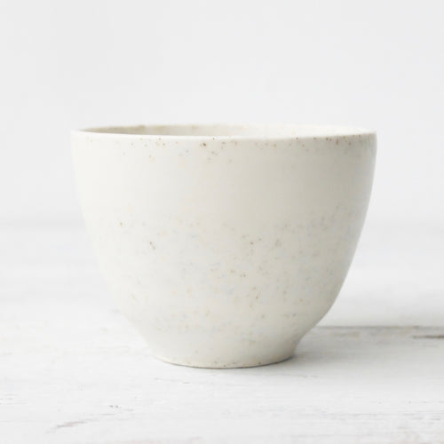 Hannah Blackall Smith Speckled porcelain tea bowl 14