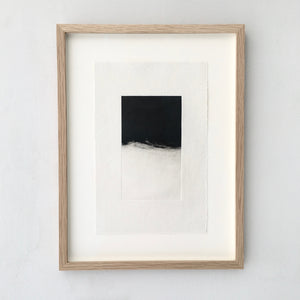 Josephine Cottrell Night Wave I Framed Monotype