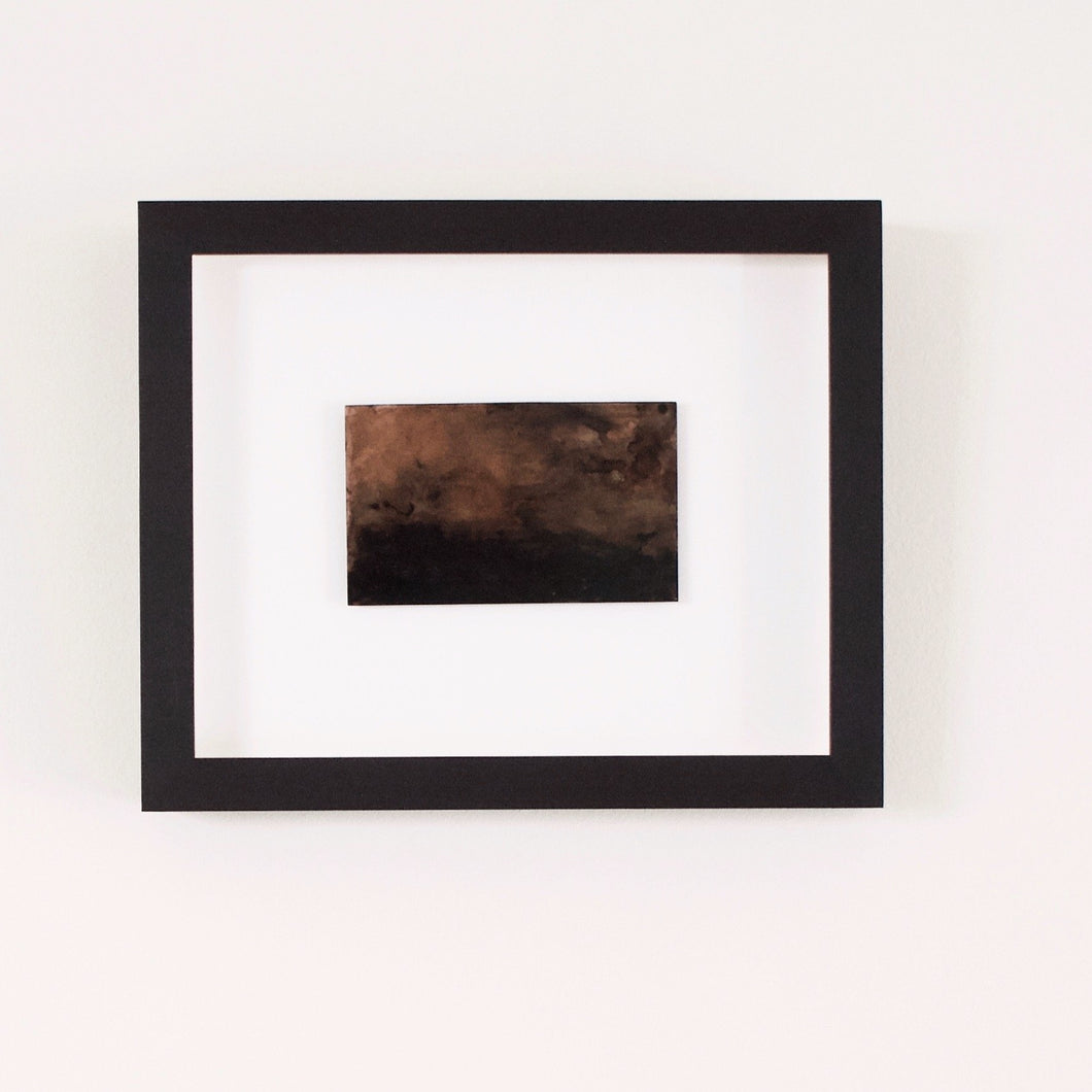 Josephine Cottrell Copper Landscape 15 Framed