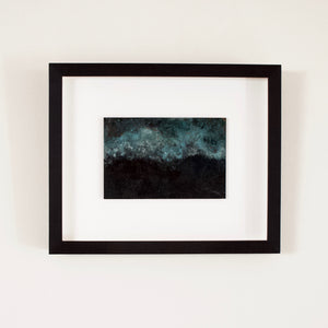 Josephine Cottrell 'Twilight Storm Off Koror' Copper Landscape 22 Framed