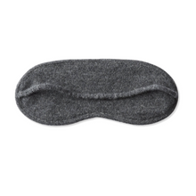 OYUNA cashmere travel knitted eye mask