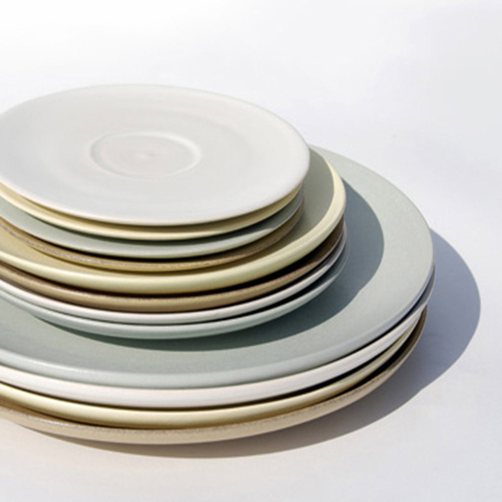 Stuart Carey Dinner Plates (Light Blue) & Stuart Carey Dinner Plates (Light Blue) | Maud and Mabel
