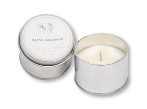 Cocoa Cashmere Scented Tin Candle | 3.5oz (100g)