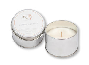 Cotton Blanket Scented Tin Candle | 3.5oz (100g)