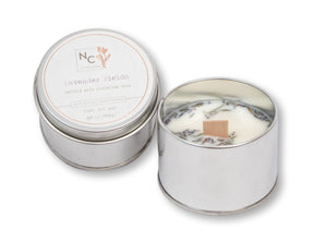 Lavender Fields Scented Tin Candle | 3.5oz (100g)
