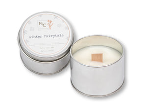 Winter Fairytale Scented Tin Candle | 3.5oz (100g)
