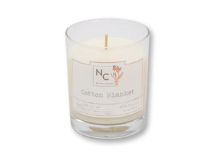 Cotton Blanket Scented Jar Candle | 6oz (170g)