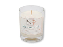 Load image into Gallery viewer, Peppermint Frost Scented Jar Candle | 6oz (170g)
