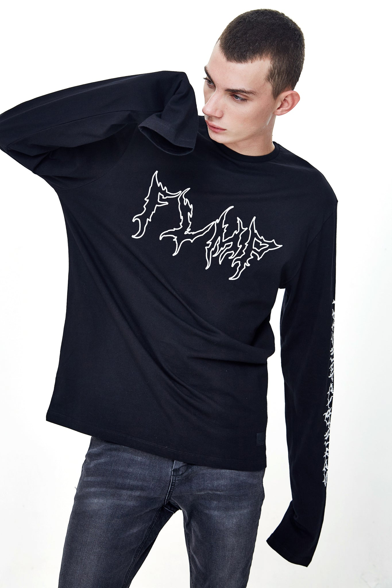 FLAME LONG SLEEVE T-SHIRT