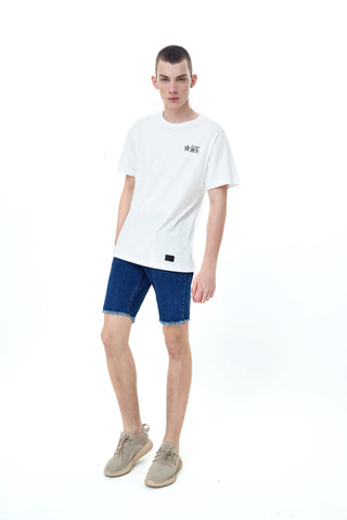 RAW DENIM BLUE BERMUDAS