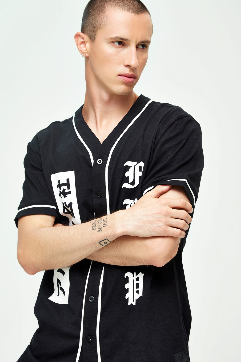 CLUB BASEBALL BLACK T-SHIRT
