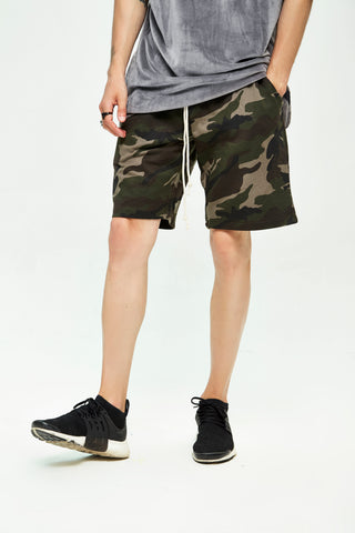 STAMP CAMO SHORTS