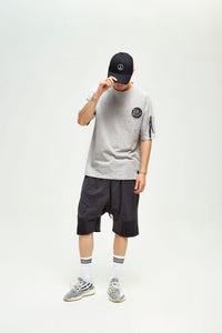 PANTHER GREY OVERSIZED T-SHIRT