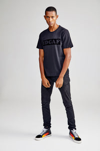 IDGAF BLACK T-SHIRT