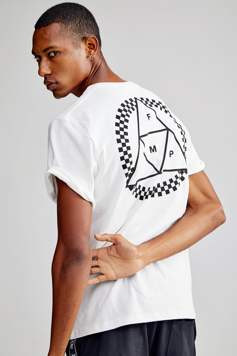 PYRAMID WHITE T-SHIRT