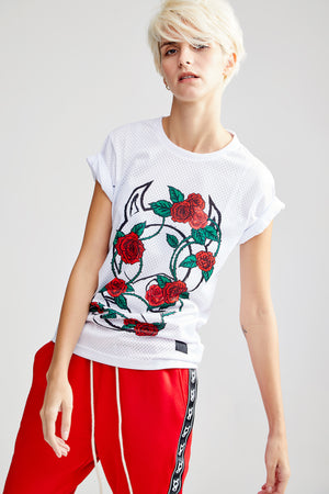 OG FLOWER WHITE T-SHIRT