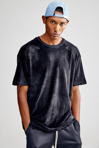 ROSER OVERSIZED BLACK T-SHIRT
