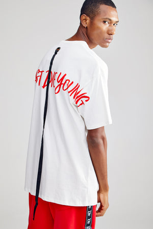 LFDY OVERSIZED WHITE T-SHIRT