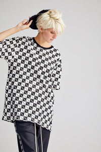 BOXY OVERSIZED BLACK T-SHIRT