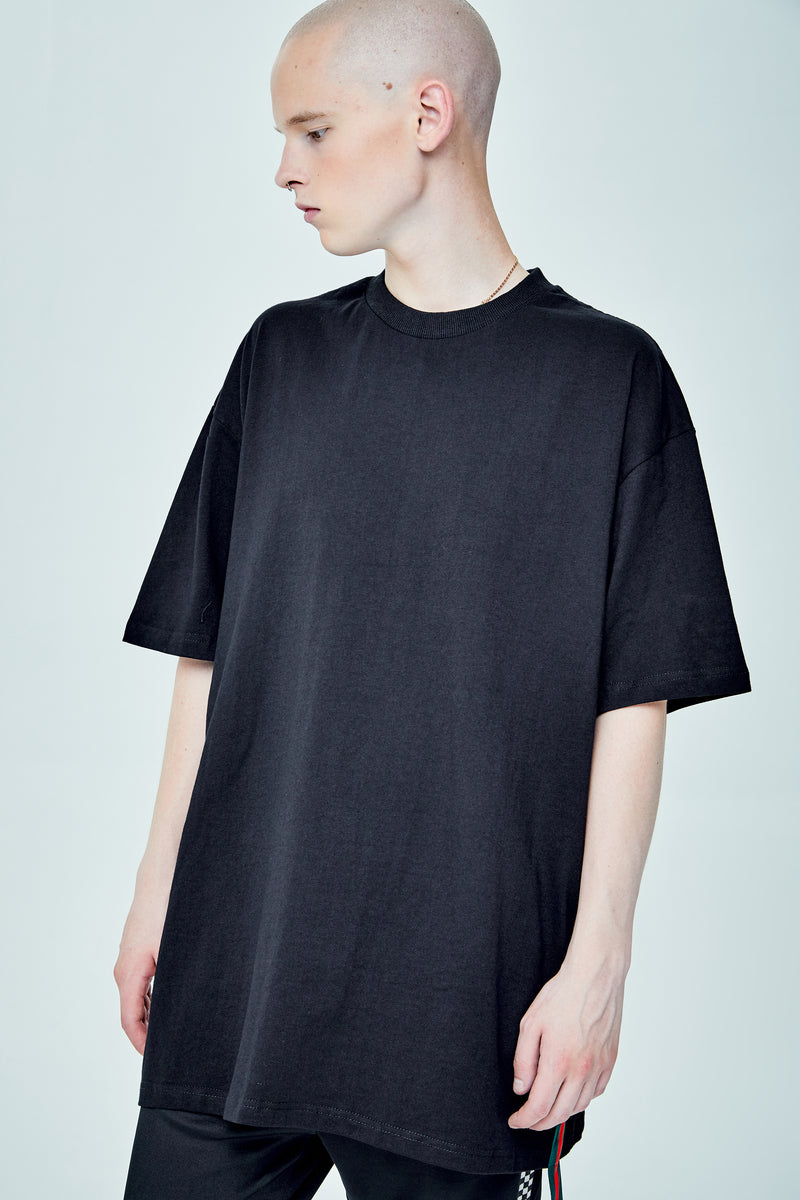 VOLTAGES OVERSIZED GREEN SIDE PANEL T-SHIRT