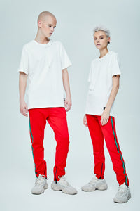 ZAMMIT RED JOGGER PANTS
