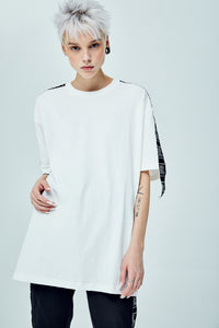 WASHCARE OVERSIZED WHITE T-SHIRT