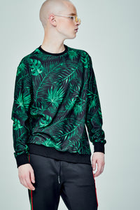 PALM BLACK SWEATER