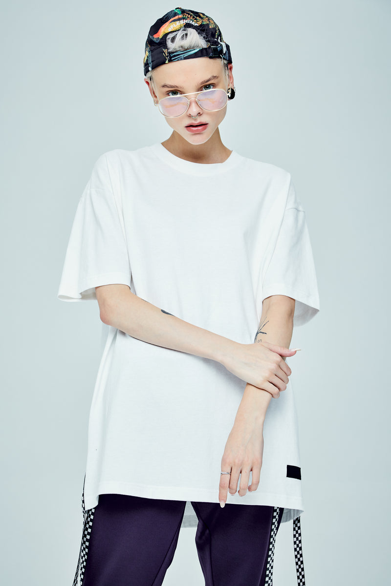 ONLY OVERSIZED WHITE T-SHIRT