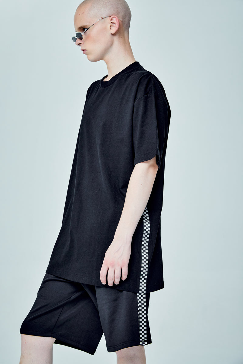 ONLY OVERSIZED BLACK T-SHIRT