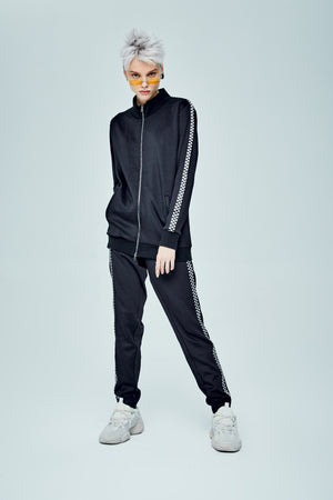 ONLY TRACKSUIT BLACK JACKET