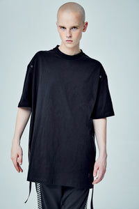 PUNCHER OVERSIZED BLACK T-SHIRT