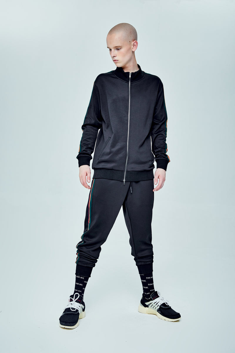 WASP TRACKSUIT BLACK JACKET