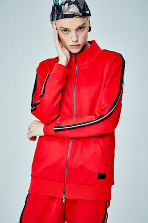 WASP TRACKSUIT RED JACKET