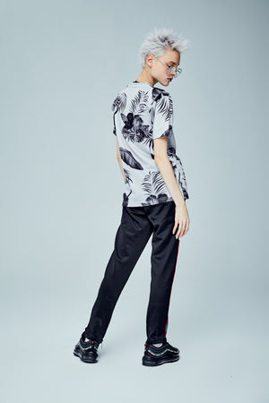 TROPICANA BLACK T-SHIRT