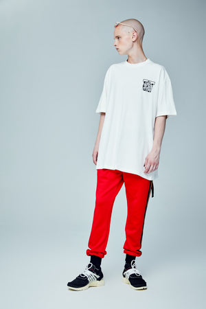 FCODE OVERSIZED WHITE T-SHIRT