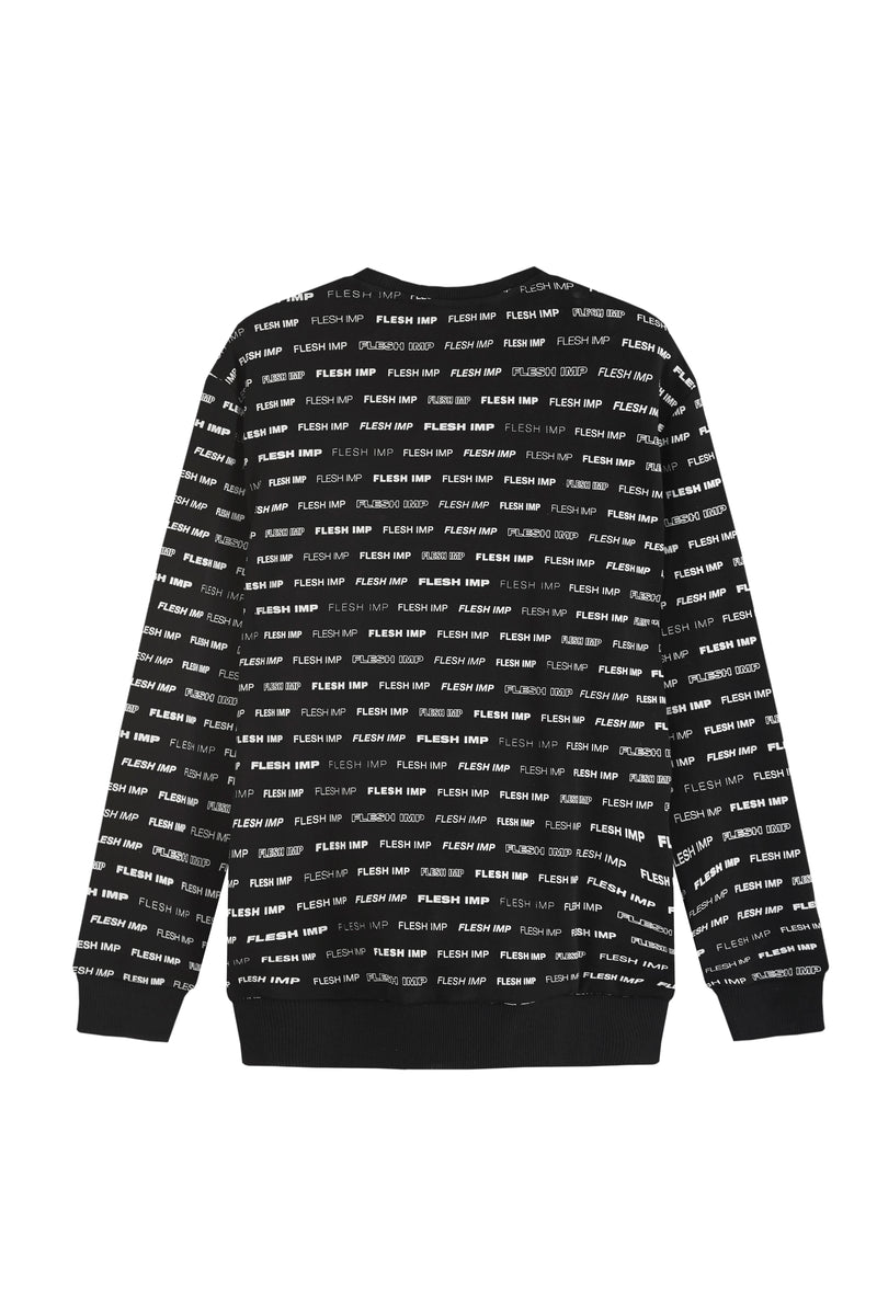 LOREM BLACK SWEATER