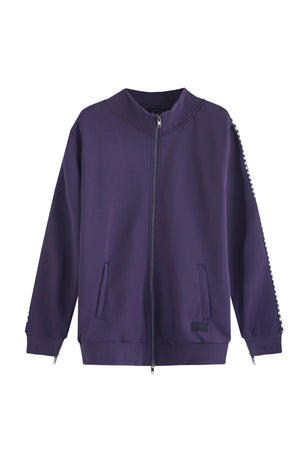ONLY TRACKSUIT PURPLE JACKET