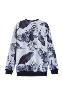 TROPICANA BLACK SWEATER