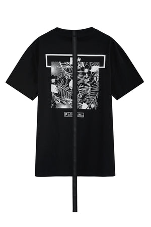 FCODE OVERSIZED BLACK T-SHIRT