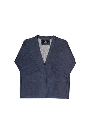 JACKET BLUE DENIM DUSTER