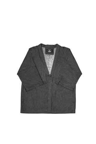 DUSTER BLACK DENIM JACKET