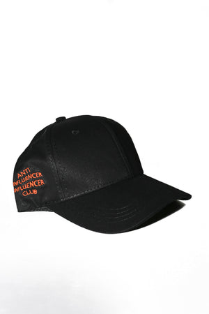 INFLUENCER ORANGE PRINT STRAPBACK